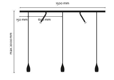 LDM DROP TRIO + 2 spots eccoled modula