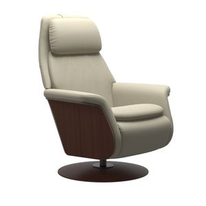 stressless sam power wood disc