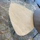 3-hoek, blad ceramic 2 strata argentum, onderstel epoxy 450245 E3600 Noctis diamond, tafelhoogte 35cm