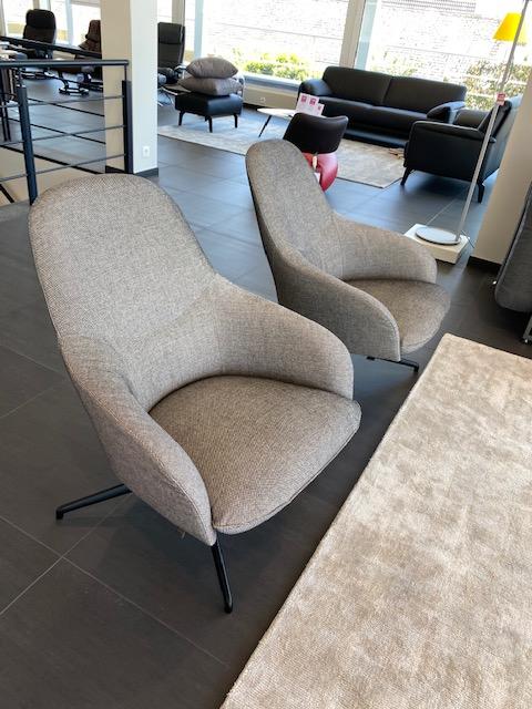 Leolux set van 2 X fauteuil Lanah